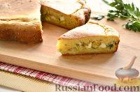 Фото к рецепту: Заливной пирог