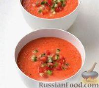 Фото к рецепту: Острый томатный суп-пюре