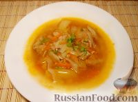 Капустный суп с тушенкой - рецепт пошаговый с фото