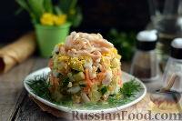 Салат из огурцов, моркови и яблок - рецепт пошаговый с фото