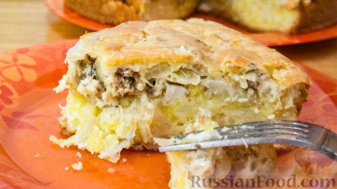 Пирог с сайрой и картофелем рекомендации