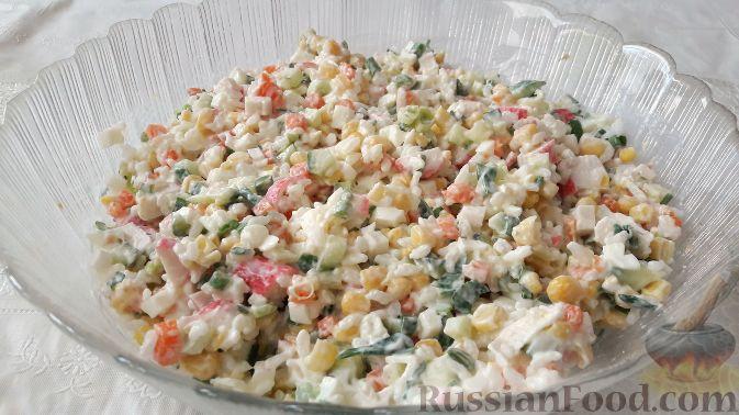 Простые салаты с рисом