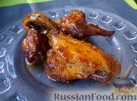 Фото к рецепту: Крылышки куриные