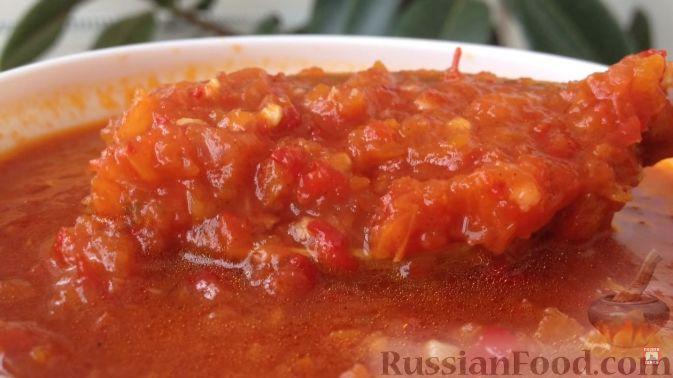 аджика рецепт на зиму з перця та помидор