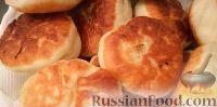 Фото к рецепту: Жареные пирожки с капустой