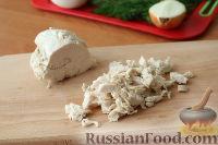 """Фото приготовления рецепта: Слоеный салат """"Нежность"""" - шаг №2"""