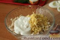 """Фото приготовления рецепта: Слоеный салат """"Нежность"""" - шаг №5"""