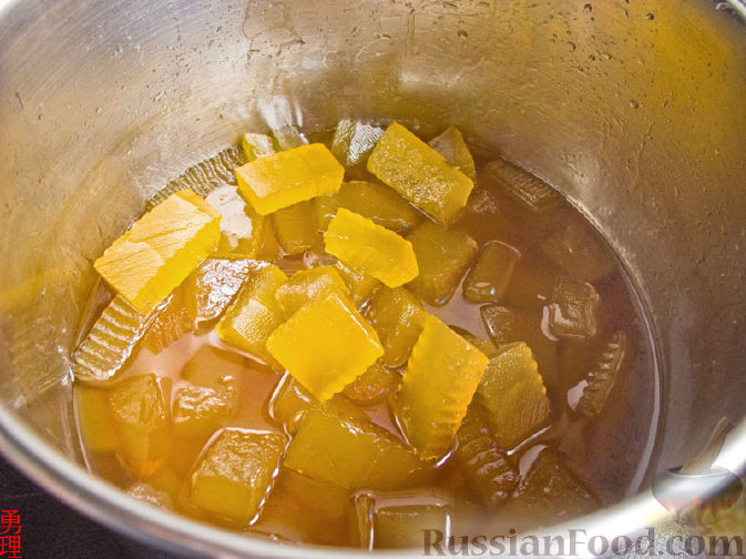 Мармелад из арбузных корок рецепт пошагово