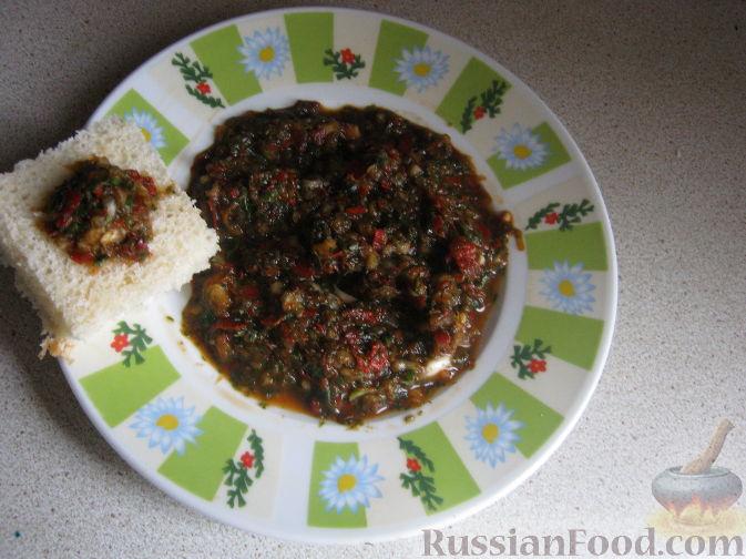 Рецепт Аджика кавказская