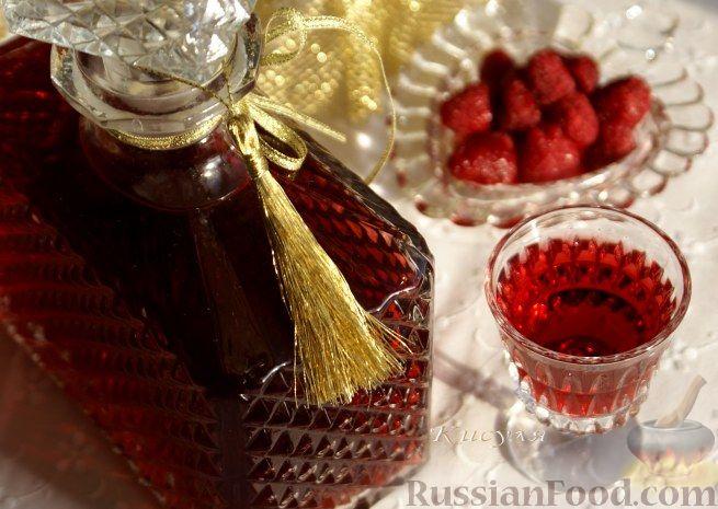 Рецепт Настойка малиновая на коньяке