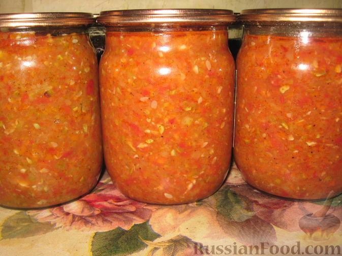 Аджика из кабачков на зиму рецепты