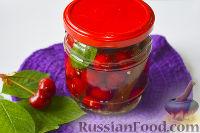 Фото к рецепту: Маринованная черешня (на зиму)