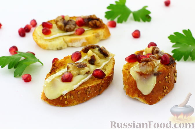 Бутерброды с гранатами — pic 8
