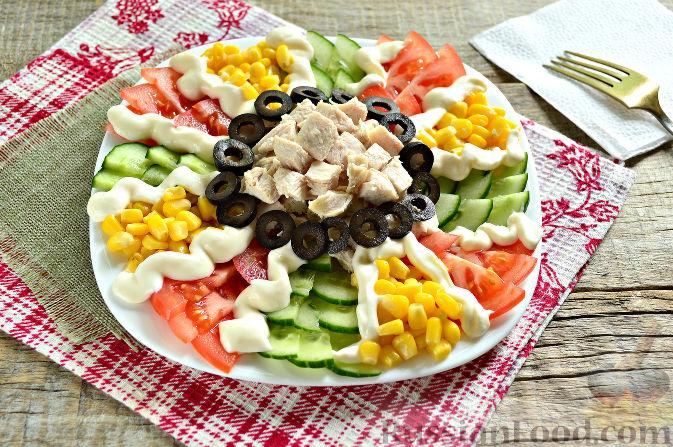 рецепты с фото праздничных салатов