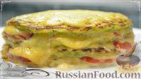 """Фото к рецепту: Кабачковый торт """"Нежный кабачок"""""""