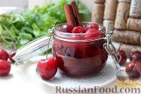 Фото к рецепту: Соус из черешни