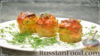 Фото к рецепту: Кабачки, фаршированные грибами и рисом