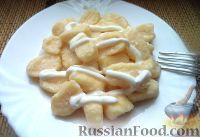 Фото к рецепту: Ленивые вареники (за 10 минут)