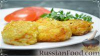 Фото к рецепту: Домашние овощные котлеты (в духовке)