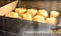 Фото приготовления рецепта: Домашние овощные котлеты (в духовке) - шаг №9