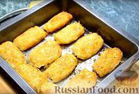 Фото приготовления рецепта: Домашние овощные котлеты (в духовке) - шаг №10