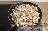 Фото приготовления рецепта: Жюльен с курицей и грибами - шаг №4