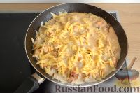 Фото приготовления рецепта: Жюльен с курицей и грибами - шаг №6