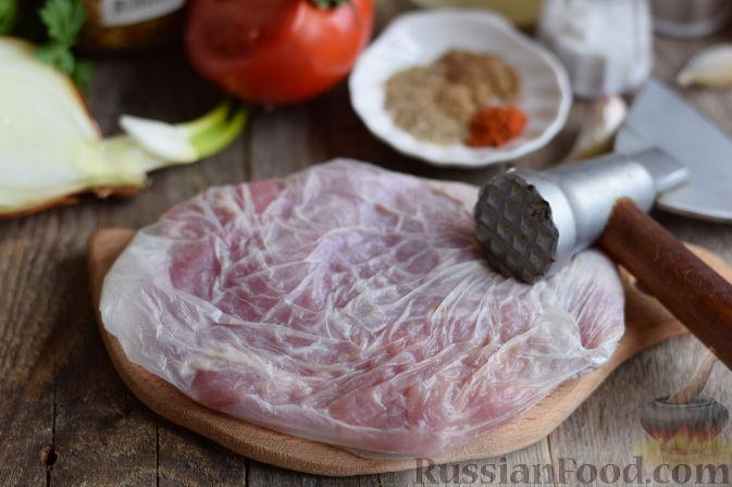 как приготовить стейк из свинины с сыром