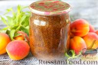 Фото к рецепту: Абрикосовый джем с маком (на зиму)