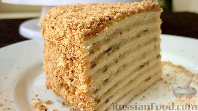Как испечь торт на сковороде