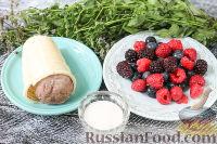 Фото приготовления рецепта: Ягодный смузи с мороженым - шаг №1