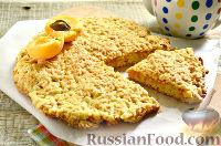 Фото к рецепту: Тертый пирог с абрикосами
