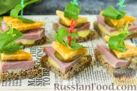 закуски на шпажках фото+ рецепты с огурцом