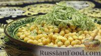 Фото к рецепту: Нутхурак (отварной горох нут с репчатым луком)