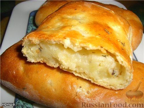 Ватрушки с картошкой рецепт пошаговое фото