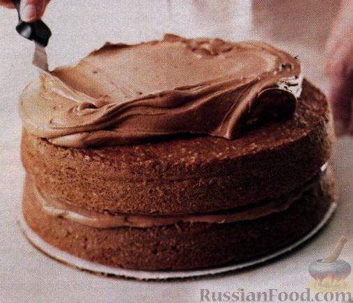 Бисквит для шоколадного торта рецепт пошагово