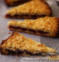 Фото к рецепту: Венгерский песочный тертый пирог