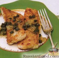 Жаренное филе морского языка - рецепт пошаговый с фото