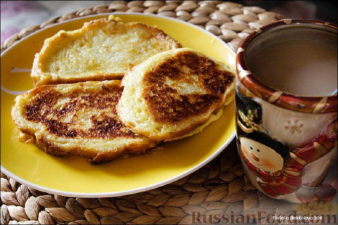 Рецепт Сладкие гренки