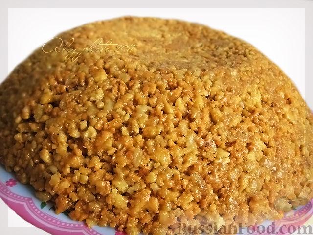 Торт «Муравейник» из печенья: пошагово без выпечки