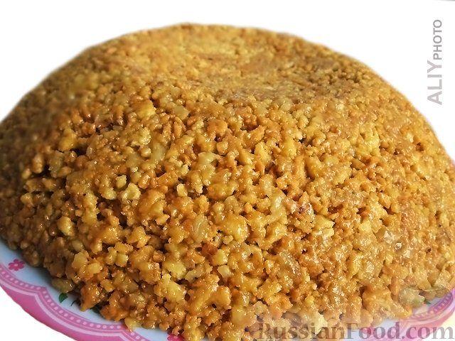 рецепт как готовить торт муравейник