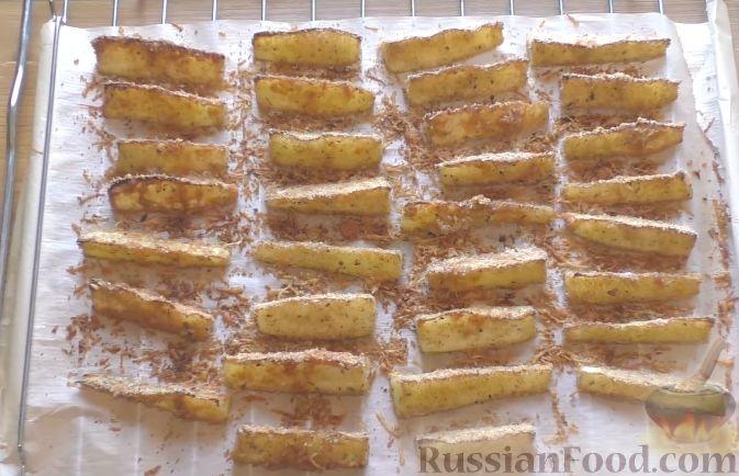 кабачки в духовке дольками