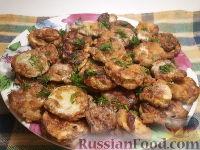 Кабачки в кляре под томатным соусом - рецепт пошаговый с фото