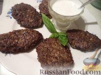 Фото к рецепту: Котлеты печеночные по-изюмски