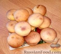 Фото к рецепту: Кексы с вареной сгущенкой