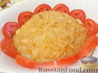Тушеный рис с курицей - рецепт пошаговый с фото