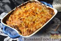 Фото к рецепту: Мядзведзь (белорусская картофельная запеканка)