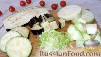 Фото к рецепту: Заморозка кабачков и баклажанов (на зиму)