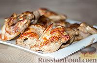 Фото к рецепту: Курица в маринаде из майонеза и соевого соуса