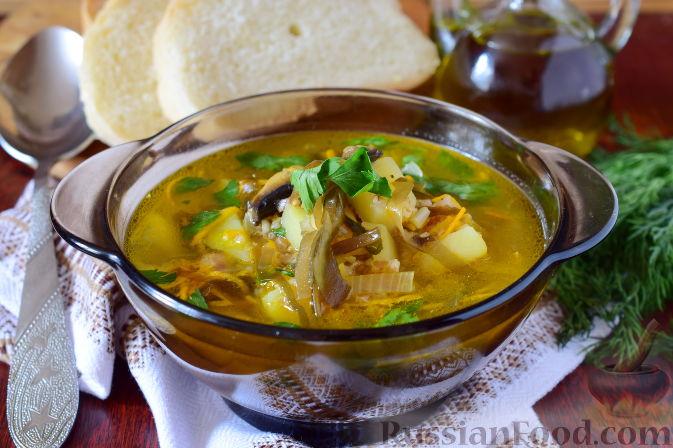 Постный суп с морской капустой — 3
